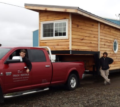 another tiny house rolls off the rv manufacturer lot