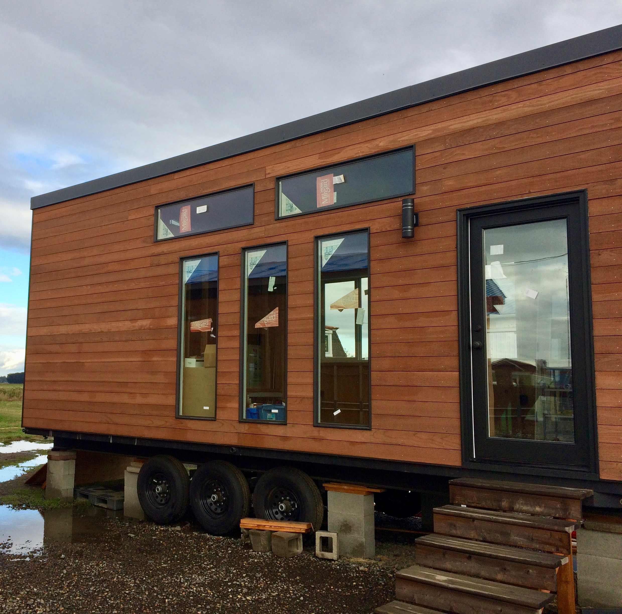 Willamette Farmhouse Tiny Smart House