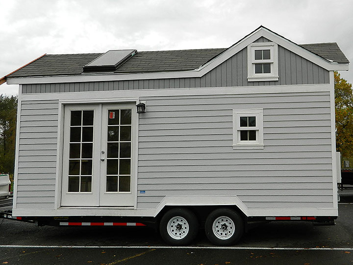 Tiny Smart House, Albany, Oregon, Oregon Trail, exterior