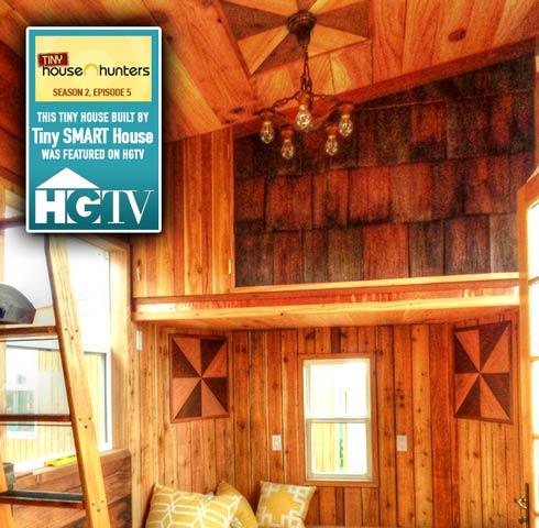 Redwood Steampunk Tiny House on HGTV