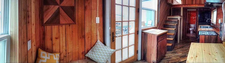Tiny Smart House, Albany, Oregon, Steampunk Tiny House, Interior