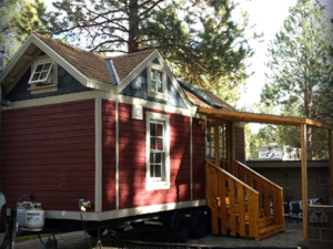 Tiny Smart House, Albany, Oregon, Washington Craftsman, eco-efficient